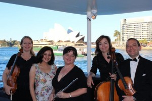Quartet with vocalist performace