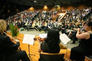 Trio performance at NSW University