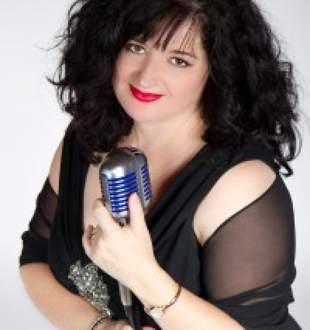 Jazz vocalist Jane Hart